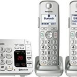 Panasonic Link2Cell Bluetooth Cordless Phone with Answering Machine w/ 4 Handsets Only $78.99 Shipped