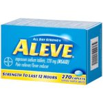 270 Aleve Caplets Pain Reliver For Only $6!