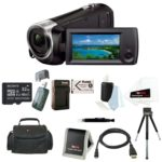 Sony Handycam HD Camcorder w/ 32GB Deluxe Accessory Kit For Only $184.99 Shipped
