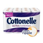 36 Family Rolls (94 Regular Rolls) Of Cottonelle CleanCare Toilet Paper For $14.22-$16.59 + Free Shipping