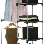 AmazonBasics Double Rod Freestanding Closet For Only $26.87 Shipped!