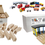 Save up to 50% on Wooden Trains and Accessories