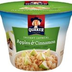 12 Pack Of Quaker Instant Oatmeal Apples & Cinnamon Express Cups For Only $1.10-$2.29 + Free Shipping!