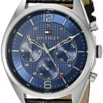 Tommy Hilfiger Men's Sophisticated Sport Analog Display Quartz Black Watch Only $59.13 Shipped!