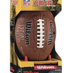 Wilson NFL MVP Junior Football with Pump and Tee Only $6.61!
