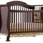 Stork Craft Valentia Convertible Crib, Espresso – Only $149.99 Shipped!