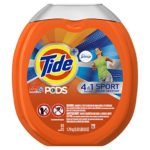 Tide PODS Plus Febreze Sport Odor Defense 4 in 1 HE Turbo Laundry Detergent Pacs (NON EDIBLE!) 61 Count Tub Only $9.49 – $10.70 + Free Shipping