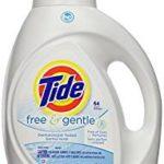 Tide HE Liquid Laundry Detergent, Free & Gentle, 100-oz. For $8.77